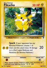 Pikachu - 86/110 - Common - Reverse Holo