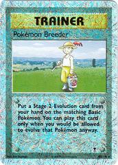 Pokemon Breeder - 102/110 - Rare - Reverse Holo