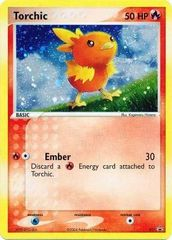 Torchic - 17 - Target snack bar promotion/EX Deck Tins - Cosmos Holo