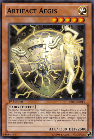 Artifact Aegis - PRIO-EN014 - Common - 1st Edition