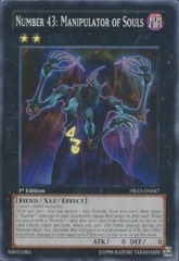 Number 43: Manipulator of Souls - PRIO-EN047 - Common - 1st Edition