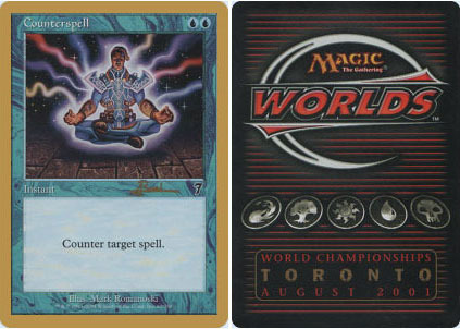 Counterspell - 7th Edition Antoine Ruel - 2001