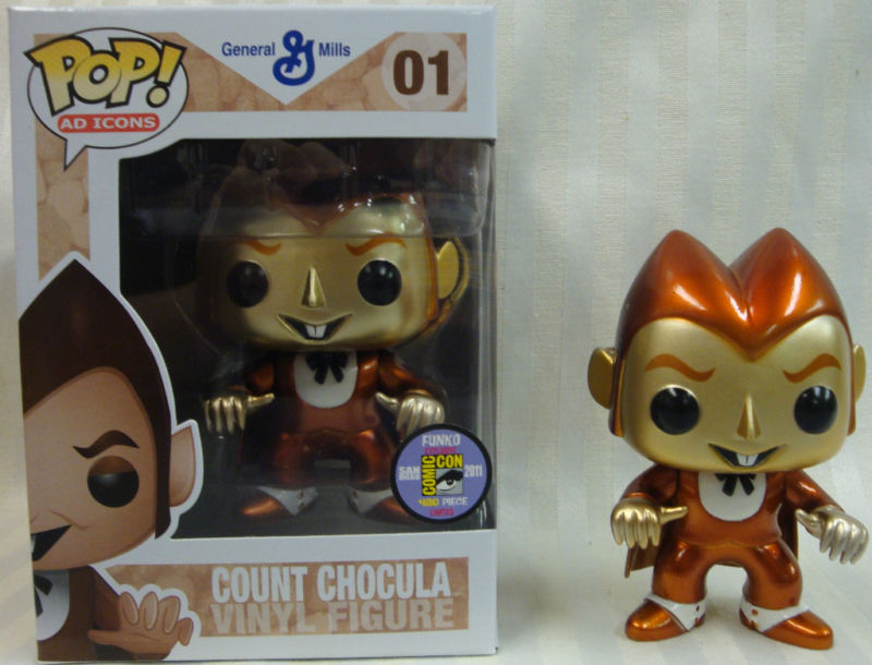 Ad Icons Series - #01 - Metallic Count Chocula [SDCC 2011]