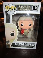 #03 - Daenerys Targaryen w/ All Red Dragon (Production Error)