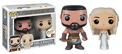 #04 & #24  Khal & Khaleesi Wedding Set [Think Geek Exclusive]