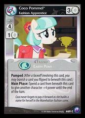 Coco Pommel, Fashion Apprentice - 69