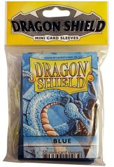 Dragon Shield Mini Card Sleeves (50 ct) - Blue