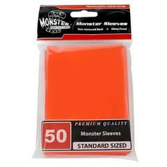 Monster Gloss Sleeves (50ct) - Orange