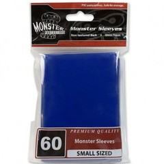 Monster Gloss Small Sleeves (60ct) - Blue