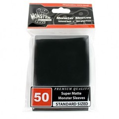 Monster Matte Sleeves (50ct) - Black