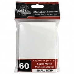 Monster Matte Small Sleeves (60ct) - White