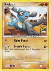 Riolu - 91/127 - Promotional - Comic-Con San Diego 2009 Stamped Promo