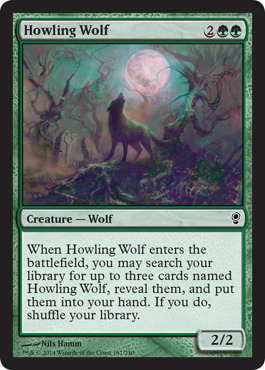 Howling Wolf - Foil