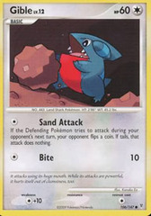 Gible - 106 - Promotional - Crosshatch Holo Staff City Championships 2009