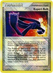 Expert Belt - 87/99 - Promotional - Crosshatch Holo Pokemon League Hurdle Dash Season 2010