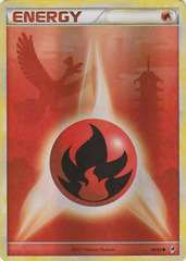 Fire Energy - 89 - Promotional - Crosshatch Holo 2011 Player Rewards