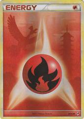 Fire Energy - 89 - Promotional - Crosshatch Holo 2011 Player Rewards