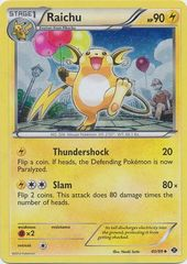 Raichu - 40 - Promotional - Cosmos Holo Boundaries Crossed Blisters Exclusive