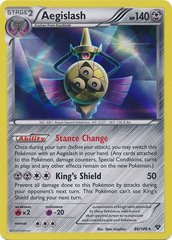 Aegislash - 86/146 - Promotional - XY Stamp Prerelease Promo on Channel Fireball