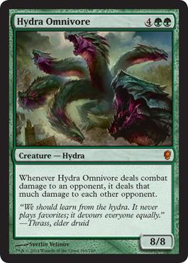 Hydra Omnivore