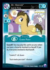 Dr. Hooves, Just In Time - F10