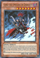 Gorz the Emissary of Darkness - LCYW-EN044 - Ultra Rare - Unlimited Edition