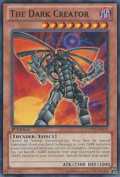 The Dark Creator - LCYW-EN210 - Common - Unlimited Edition