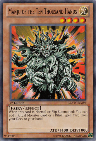 Manju of the Ten Thousand Hands - LCYW-EN250 - Common - Unlimited Edition