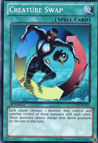 Creature Swap - LCYW-EN269 - Super Rare - Unlimited Edition