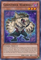 Ghostrick Warwolf - PRIO-EN023 - Common - Unlimited Edition