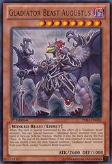 Gladiator Beast Augustus - PRIO-EN030 - Rare - Unlimited Edition