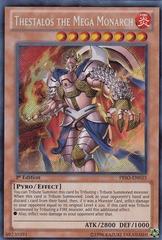 Thestalos the Mega Monarch - PRIO-EN035 - Secret Rare - Unlimited Edition