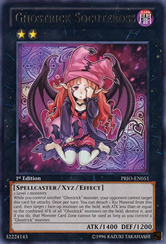Ghostrick Socuteboss - PRIO-EN051 - Rare - Unlimited Edition