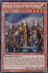 Noble Knight Brothers - PRIO-EN081 - Secret Rare - Unlimited Edition on Channel Fireball