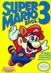 Super Mario Bros. 3 (Bros. above Mario's Head)