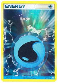 Water Energy - 107/110 - Rare Holo