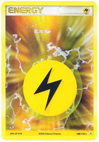 Lightning Energy - 108/110 - Rare Holo