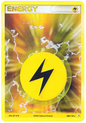Lightning Energy 108/110 - Rare Holo