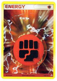 Fighting Energy 110/110 - Rare Holo