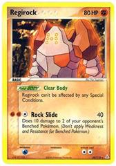 Regirock - 28/110 - Rare on Channel Fireball