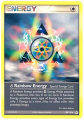 Delta Species Rainbow Energy - 98/110 - Uncommon on Channel Fireball