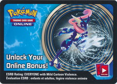 Kalos Power Greninja-EX Collector's Tin Unused Code Card