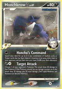 Honchkrow [G] - 77/127 - Common