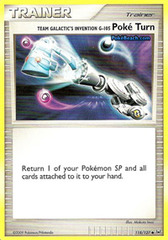 Team Galactic's Invention G-105 Poke Turn - 118/127 - Uncommon