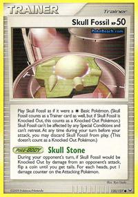 Skull Fossil - 120/127 - Common