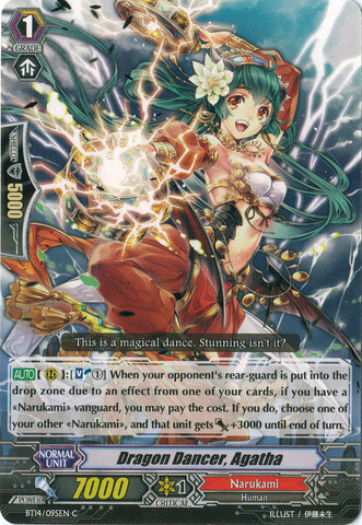 Dragon Dancer, Agatha - BT14/095EN - C