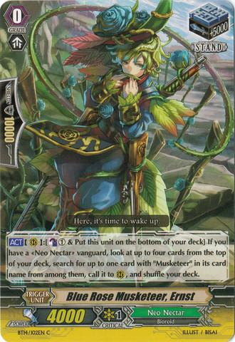 Blue Rose Musketeer, Ernst - BT14/102EN - C