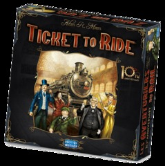 Ticket to Ride 10th Anniversary Edition (In-Store Sales Only)