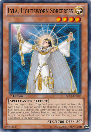 Lyla, Lightsworn Sorceress - SDLI-EN008 - Common - 1st Edition