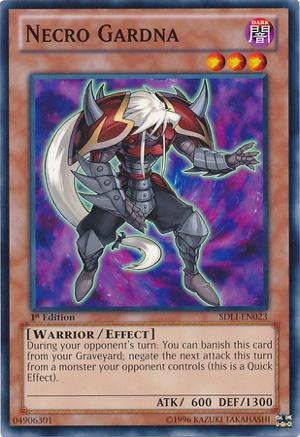Necro Gardna - SDLI-EN023 - Common - 1st Edition